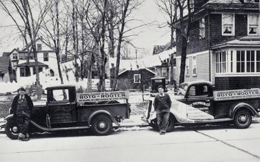 Roto Rooter Trucks - 1930's